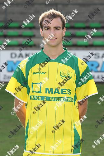 2009-08-14 / Voetbal / seizoen 2009-2010 / Witgoor Dessel / Philip De Cantis..Foto: mpics