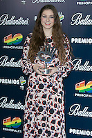 Birdie attend the 40 Principales Awards at Barclaycard Center in Madrid, Spain. December 12, 2014. (ALTERPHOTOS/Carlos Dafonte) /NortePhoto