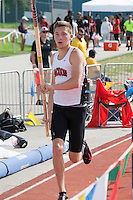 Jackson junior Dakota Maddox cleared 15-00 to finish in third in the Class 5 pole vault.