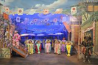- Milano, il nuovo Museo delle Culture MUDEC nell'ex area industriale Ansaldo in via Tortona. la mostra &quot;Mondi a Milano&quot; sulle influenze artistiche del colonialismo nell'arte italiana. Marionette giapponesi della famiglia Colla<br /> <br /> - Milan, the new Museum of Cultures MUDEC in the former industrial area Ansaldo in Tortona street. the exhibition &quot;Worlds in Milan&quot; about artistic influences of colonialism in the Italian art. japanese puppets of Colla Family