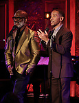 "BeBe Winans and Charles Randolph-Wright on stage during a Song preview performance of the BeBe Winans Broadway Bound Musical ""Born For This"" at Feinstein's 54 Below on November 5, 2018 in New York City."
