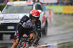 Marco Marcato (ITA) UAE Team Emirates in action during Stage 1, a 14km individual time trial around Dusseldorf, of the 104th edition of the Tour de France 2017, Dusseldorf, Germany. 1st July 2017.<br /> Picture: Eoin Clarke | Cyclefile<br /> <br /> <br /> All photos usage must carry mandatory copyright credit (&copy; Cyclefile | Eoin Clarke)