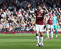 Burnley's Robbie Brady<br /> <br /> Photographer Rachel Holborn/CameraSport<br /> <br /> The Premier League - Burnley v Manchester United - Sunday 23rd April 2017 - Turf Moor - Burnley<br /> <br /> World Copyright &copy; 2017 CameraSport. All rights reserved. 43 Linden Ave. Countesthorpe. Leicester. England. LE8 5PG - Tel: +44 (0) 116 277 4147 - admin@camerasport.com - www.camerasport.com