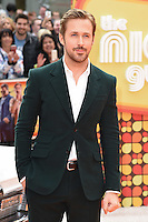 Ryan Gosling at the premiere of &quot;The Nice Guys&quot; at the Odeon Leicester Square, London.<br /> May 19, 2016  London, UK<br /> Picture: Steve Vas / Featureflash