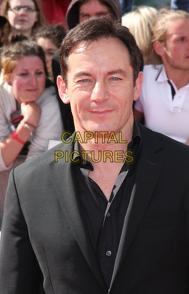 Jason Isaacs .at the World Premiere of 'Harry Potter and the Deathly Hallows - Part 2' at Trafalgar Square, London, England, .July 7th 2011..7 final seven arrivals portrait headshot black shirt jacket .CAP/ROS.©Steve Ross/Capital Pictures
