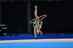 Glasgow 2014 Commonwealth Games<br /> <br /> Laura Halford (Wales) competing in the women's Individual Rhythmic Gymnastics Apparatus Final.<br /> <br /> 25.07.14<br /> ©Steve Pope-SPORTINGWALES