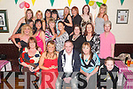 Key of the Door: Adele Conway of Gallowsfield (seated 2nd from right) having a lovely time at her 21st birthday in Stacks GAA Clubhouse on Saturday evening, along with family and friends. Adele is daughter of Ann Marie Healy and James Conway. Also at the party was her sister Lisa and brother Jason, grandmother Eileen Conway and grandad Terry Healy. Adele works in Tesco in the Square..