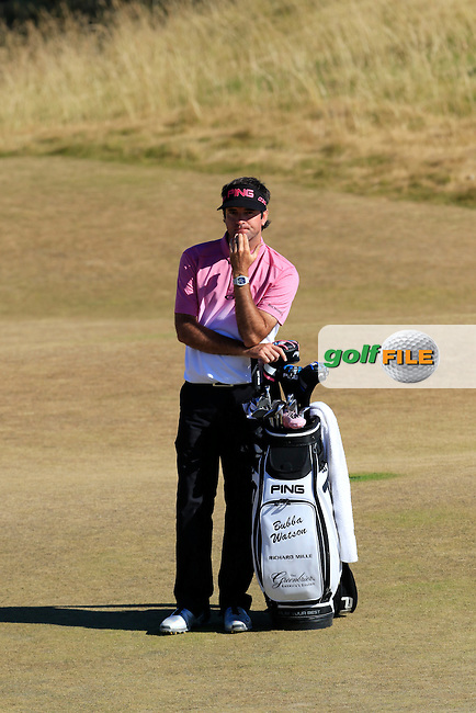 Bubba Watson (USA) at the 5th green during Friday's Round 2 of the 2015 U.S. Open 115th National Championship held at Chambers Bay, Seattle, Washington, USA. 6/20/2015.<br /> Picture: Golffile | Eoin Clarke<br /> <br /> <br /> <br /> <br /> All photo usage must carry mandatory copyright credit (&copy; Golffile | Eoin Clarke)