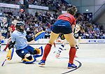 ROTTERDAM  - NK Zaalhockey . finale dames hoofdklasse: hdm-Laren 2-1. hdm landskampioen. Maxime Kerstholt (Lar) .   COPYRIGHT KOEN SUYK
