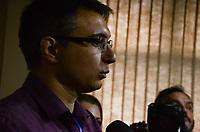 RIO DE JANEIRO, RJ - 03.08.2018 - ELEIÇÕES-RJ - Pedro Fernandes candidato ao governo do Rio de Janeiro pelo PDT durante Convenção do partido na Fundação Leonel Brizola no Rio de Janeiro (RJ), nesta sexta-feira (03). - (Foto: Vanessa Ataliba/Brazil Photo Press)