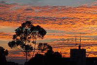 BOGOTA-COLOMBIA-ENERO 28-2013. Atardecer en la ciudad de Bogotá, enero 28 de 2013. (Foto: VizzorImage / Luis Ramírez / Staff). Sunset in Bogota city, January 28, 2013. (Photo: VizzorImage / Luis Ramirez / Staff)