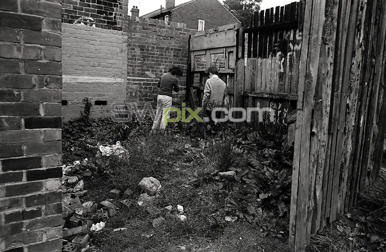Pix: Barry Wilkinson/SWpix.com. The Yorkshire Ripper Archive. 14th May 1979 - 11th May1980...COPYRIGHT PICTURE>>SIMON WILKINSON>>0870 092 0092>>..Ripper Site Unknown.