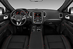 Stock photo of straight dashboard view of 2017 Dodge Durango R/T-RWD 5 Door SUV Dashboard