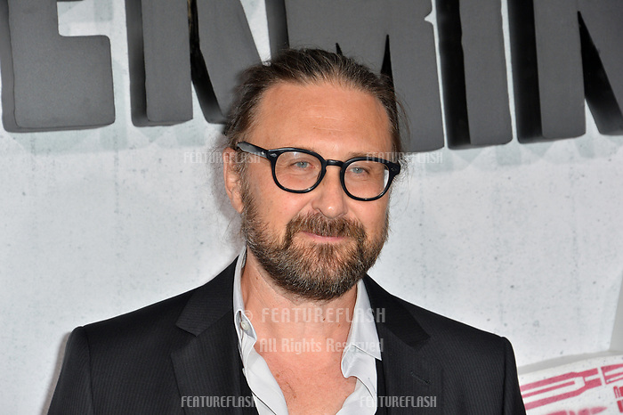 "LOS ANGELES, CA. August 28, 2018: Pierre Morel at the world premiere of ""Peppermint"" at the Regal LA Live."