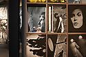 Visitors at End, Eamon Doyle exhibition at espace Van Gogh, Arles, July 6, 2016. © Carlo Cerchioli