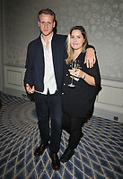 LONDON, ENGLAND - AUGUST 08: Josh Dylan and guest/partner? at the Cats Protection's National Cat Awards 2019, The Savoy Hotel, The Strand, on Thursday 08 August 2019 in London, England, UK.<br /> CAP/CAN<br /> ©CAN/Capital Pictures