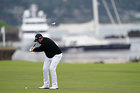 Shane Lowry (IRL) on the 18th fairway during the 3rd round of the US Open Championship, Pebel Beach Golf Links, Monterrey, Calafornia, USA. 15/06/2019.<br /> Picture Fran Caffrey / Golffile.ie<br /> <br /> All photo usage must carry mandatory copyright credit (© Golffile | Fran Caffrey)