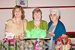 HORTICULTURAL: The Castlegregory ICA ladies Maureen O'Callaghan, Catherine Spillane and Bridie Goodwin, held their horticultural show in the community hall in conjuction with Castlegregory Pattern Day on Sunday..