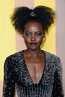 LONDON, ENGLAND - FEBRUARY 8: Lupita Nyong'o arrives at the 'Black Panther' European premiere at the Eventim Apollo, on February 8th, 2018 in London, England. <br /> CAP/JC<br /> &copy;JC/Capital Pictures