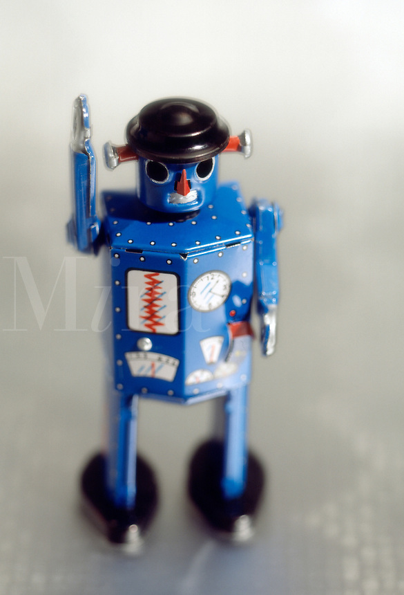 Antique toy tin robot...