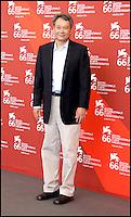 Le prÈsident du jury Ang Lee - Festival de Venise 2009
