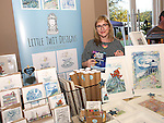 Caoimhe McCarthy (Little Twit Designs) at the Cottage Market, St Peters.<br /> <br /> Photo - Jenny Matthews