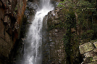Veil of the Fiance (Veu da Noiva) Waterfall in the Serra do Cipó National Park, Minas Gerais, Brazil, South America, 2007, © Stephen Blake Farrington