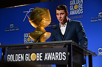 Garrett Hedlund at the nominations announcement for the 75th Annual Golden Globe Awards at The Beverly Hilton Hotel, Beverly Hills, USA 11 Dec. 2017<br /> Picture: Paul Smith/Featureflash/SilverHub 0208 004 5359 sales@silverhubmedia.com