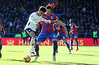 Luka Milivojevic of Crystal Palace and Dele Alli of Tottenham Hotspur during Crystal Palace vs Tottenham Hotspur, Premier League Football at Selhurst Park on 25th February 2018