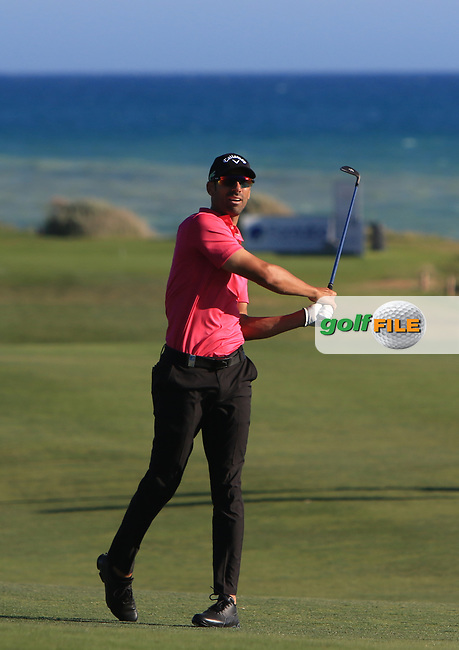 Alvaro Quiros (ESP) on the 16th fairway during Round 3 of The Rocco Forte Open  at Verdura Golf Club on Saturday 20th May 2017.<br /> Photo: Golffile / Thos Caffrey.<br /> <br /> All photo usage must carry mandatory copyright credit     (&copy; Golffile | Thos Caffrey)