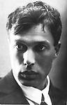 Portrait of the poet Boris Pasternak (1890-1960)<br /> Artist: Anonymous<br /> Museum: Institut of Russian Literature IRLI (Pushkin-House), St Petersburg<br /> Method: Photograph<br /> Created: 1920s-1930s<br /> School: Russia