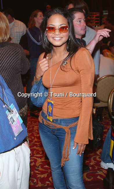 Christina Milian at the Radio MegaBlast, a two-day event packed with live radio broadcasts, receptions, concerts, awards ceremonies and more at the Aladdin Resort and Casino,  Thursday, Oct. 25, 2001.            -            MilianChristina01.jpg