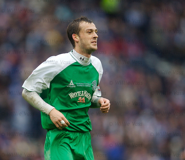 Steven Fletcher, Hibs.stock season 2006-2007.pic willie vass