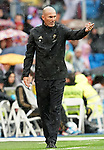 Real Madrid's coach Zinedine Zidane during La Liga match. September 14,2019. (ALTERPHOTOS/Acero)