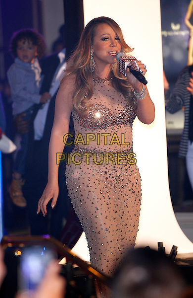 27 April 2015 - Las Vegas, Nevada -  Mariah Carey. Spectacular Welcome Event for Mariah Carey before beginning her new show, Mariah #1 to Infinity, at The Colosseum  at Caesars Palace <br /> CAP/ADM/MJT<br /> &copy; MJT/AdMedia/Capital Pictures