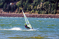 Wind surfing on the Columbia River at the Hood River Waterfront, Oregon, USA, 200809020845..Copyright Image from Victor Patterson, 54 Dorchester Park, Belfast, N Ireland, BT9 6RJ...Tel: +44 28 9066 1296.Mob: +44 7802 353836.Email: victorpatterson@mac.com..IMPORTANT - Please visit www.victorpatterson.com and click on Terms & Conditions