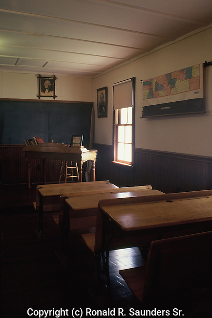 OLD TIME SCHOOL ROOM