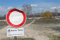 - the Ticino natural park near Vigevano....- il parco naturale del Ticino presso Vigevano
