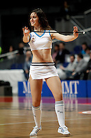 Real Madrid's cheerleader during Euroliga match. February 28,2013.(ALTERPHOTOS/Alconada)