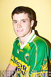 Andy McCarthy...................at  the Kilmoyley team press night ahead of the County Hurling Final