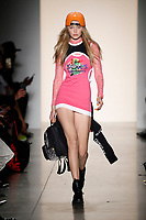 Jeremy Scott catwalk fashion show<br /> at New York Fashion Week<br /> Spring Summer 2018<br /> in New York, USA September 2017.<br /> CAP/GOL<br /> &copy;GOL/Capital Pictures