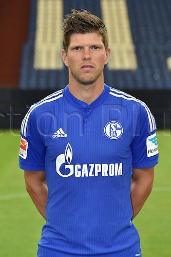 17.07.2015, Gelsenkirchen, Germany. Bundesliga season 2015-16 official squad portrait.  Klaas-Jan Huntelaar,(Schalke 04)