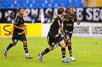 RIO DE JANEIRO, RJ,  24 DE JUNHO 2012 - CAMPEONATO BRASILEIRO - 6a RODADA - BOTAFOGO X PONTE PRETA - Andrezinho, jogador do Botafogo, comemora o seu gol, durante partida contra a Ponte Preta, pelo Campeonato Brasileiro, 6a rodada, no Stadium Rio (Engenhao), na cidade do Rio de Janeiro, neste domingo, 24. FOTO BRUNO TURANO  BRAZIL PHOTO PRESS