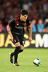 AC Milan Defender Gustavo Gomez in action during the 2017 International Champions Cup China match between FC Bayern and AC Milan at Universiade Sports Centre Stadium on July 22, 2017 in Shenzhen, China. Photo by Marcio Rodrigo Machado/Power Sport Images