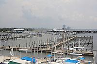 Municipal Yacht Harbor - West End - New Orleans - marina languishing post Hurricane Katrina