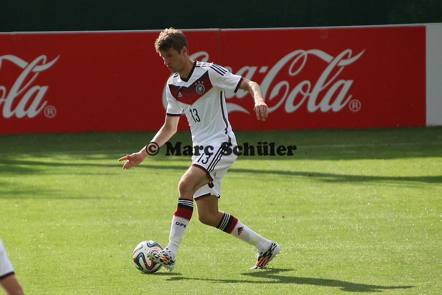 Thomas Müller - Testspiel der Deutschen Nationalmannschaft gegen die U20 zur WM-Vorbereitung in St. Martin