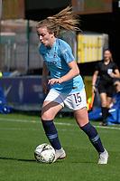 Lauren Hemp of Manchester City Women during Chelsea Women vs Manchester City Women, FA Women's Super League FA WSL1 Football at Kingsmeadow on 9th September 2018