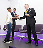 Frank Warren Boxing Promoter and BT Sport Press Conference at BT Tower London Great Britain <br /> <br /> 23rd January 2017 <br /> <br /> Frank Warren introduces Boxers who will be taking part in tournaments during 2017. <br /> announces that he has signed Nicola Adams who will fight professionally on 8th April in Manchester Arena <br /> <br /> <br /> Photograph by Elliott Franks <br /> Image licensed to Elliott Franks Photography Services