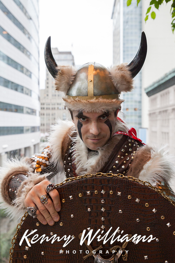 Viking Druid Cosplay, Emerald City Comicon, Seattle, WA, USA.
