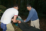 David & Sam Transfering Possum From Trap